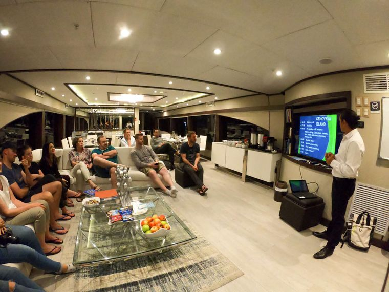 Grand Majestic Yacht Charter - Briefing