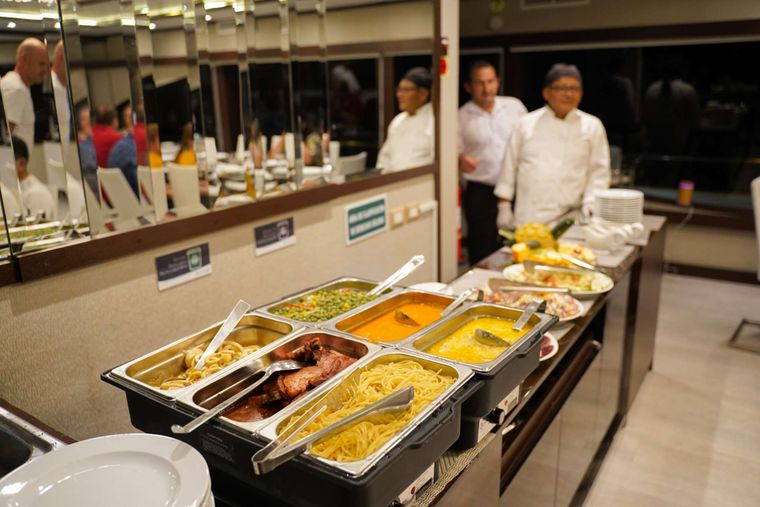 Grand Majestic Yacht Charter - Buffet