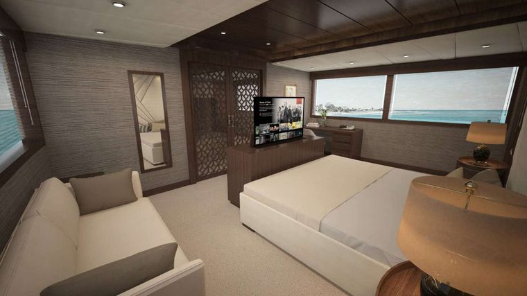 Grand Majestic Yacht Charter - Master Suite