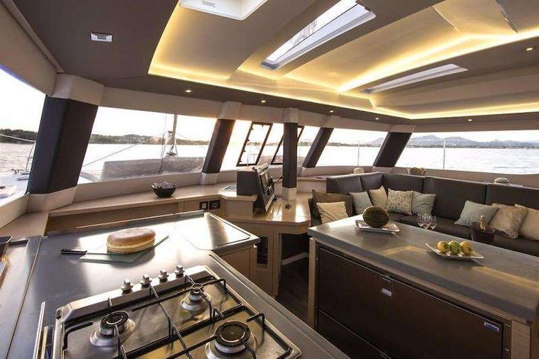 WINTER'S COMING Yacht Charter - Galley