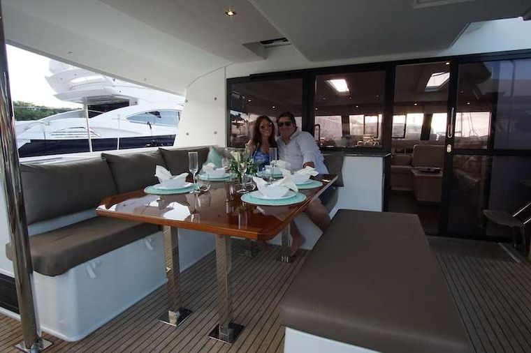 WINTER'S COMING Yacht Charter - Cockpit