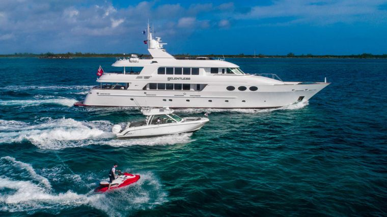 RELENTLESS Yacht Charter - Tender and toys