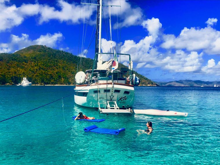 KAI Yacht Charter - Easy access to the water