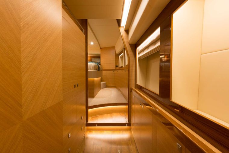 MYSTIC SOUL Yacht Charter - Dressing Area Master Stateroom
