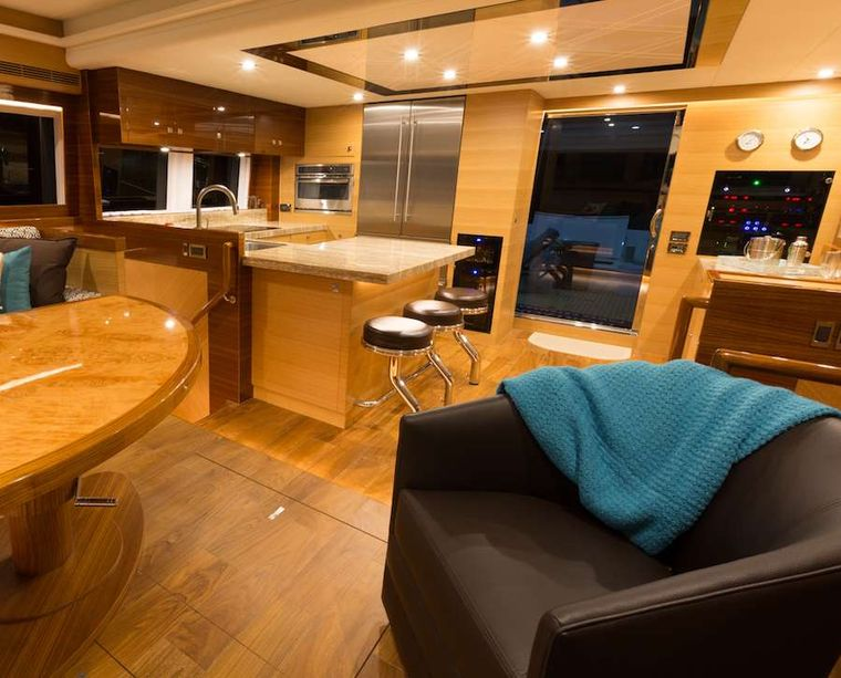 MYSTIC SOUL Yacht Charter - Galley