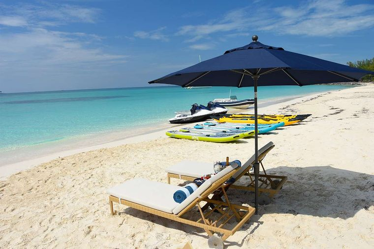 CLARITY Yacht Charter - Beach Lounge and Water Toys