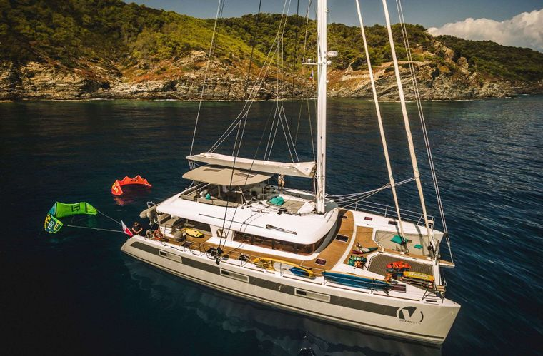 OCEAN VIEW Yacht Charter - Aerial view