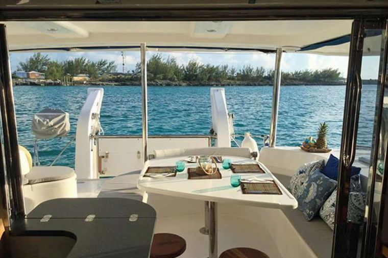 DESTINY III Yacht Charter - Beautiful Views from the Aft Deck