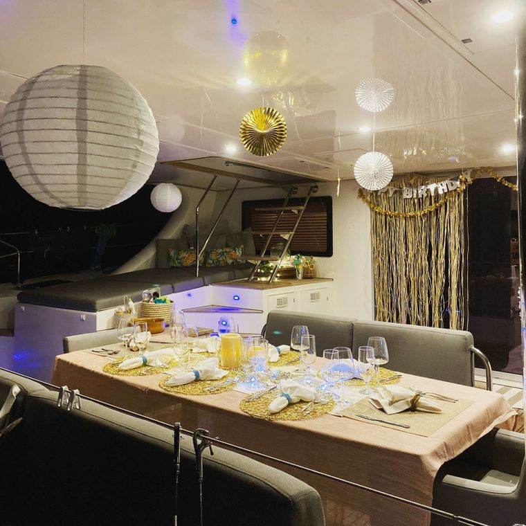 EXCESS Yacht Charter - Theme night
