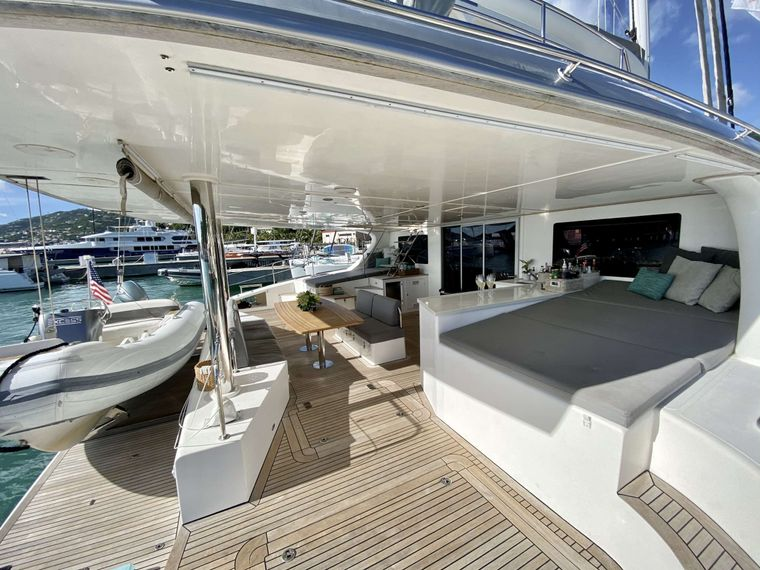 EXCESS Yacht Charter - Stern & Cockpit