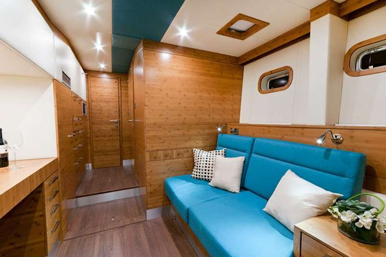 EXCESS Yacht Charter - Master Cabin