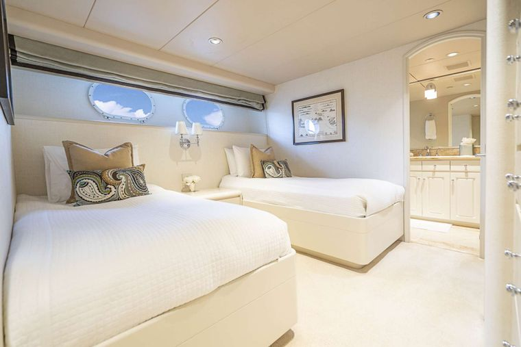 CHERISH II Yacht Charter - Double guest stateroom