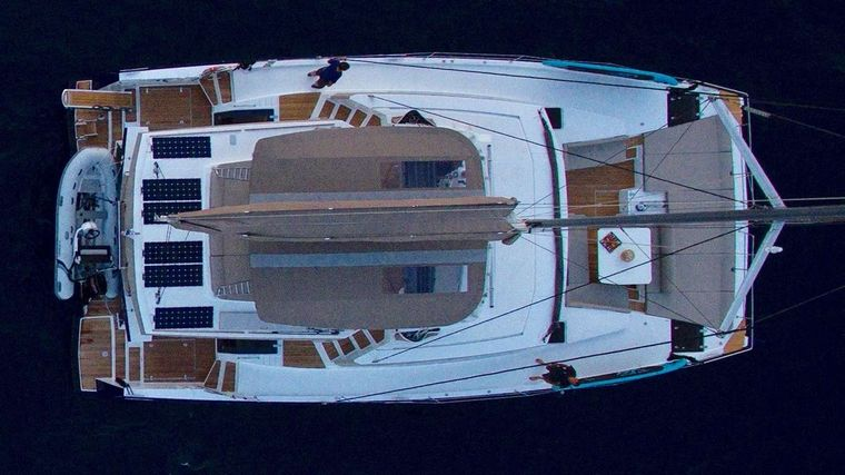 NEW HORIZONS 3 Yacht Charter - Forward another view