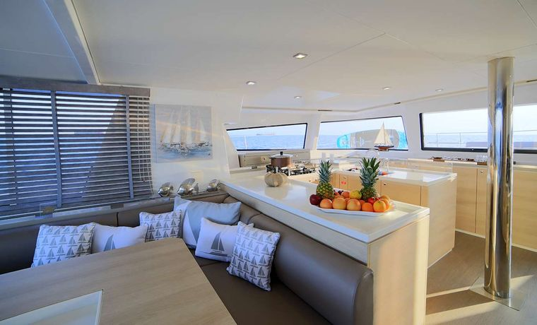 NEW HORIZONS 3 Yacht Charter - Galley