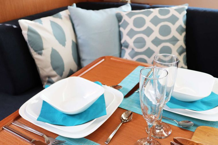 Wyvern Yacht Charter - Dining Area