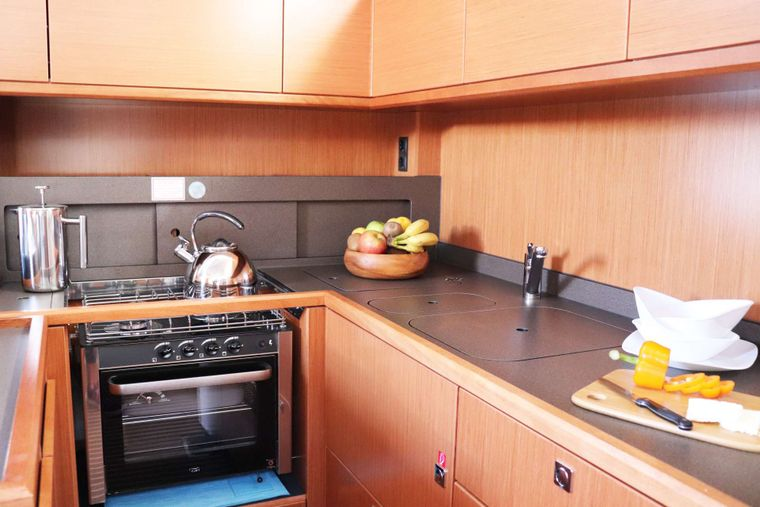 Wyvern Yacht Charter - Galley