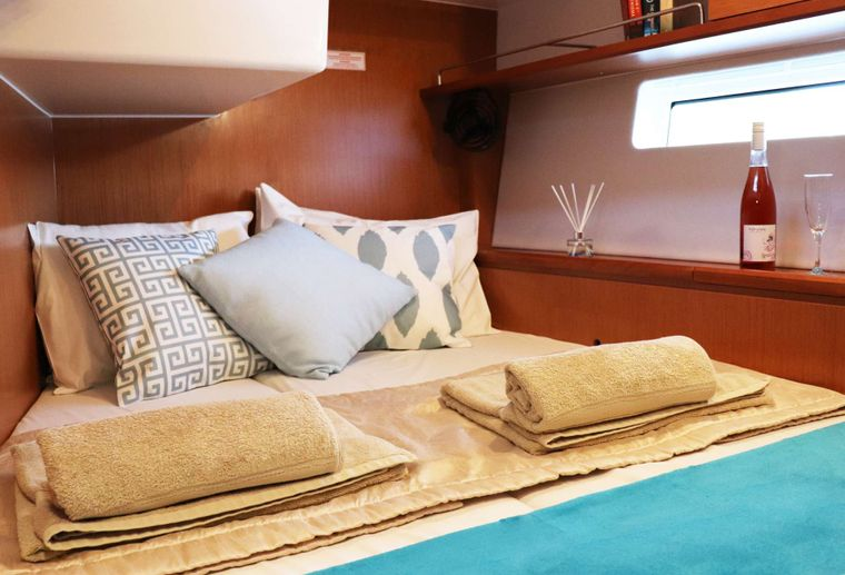 Wyvern Yacht Charter - Aft Double Cabin