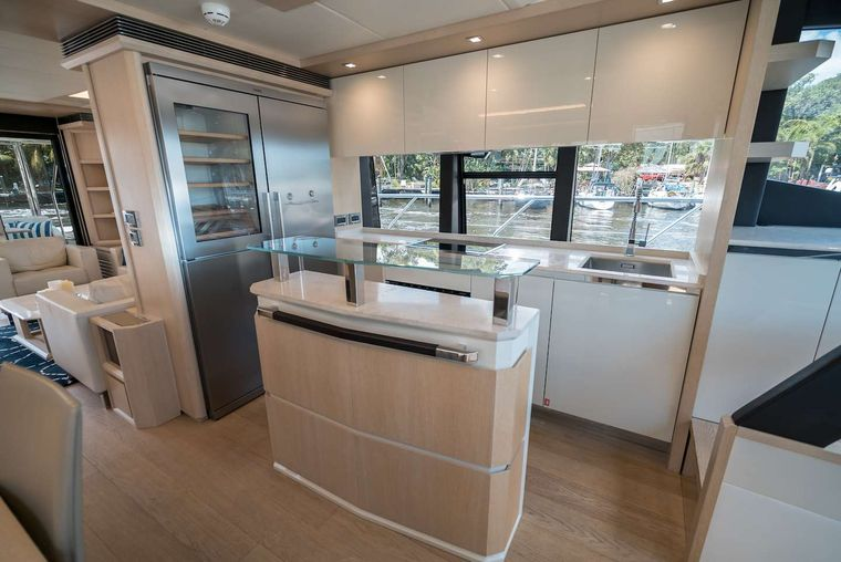 STAY COOL Yacht Charter - Galley with Open Window