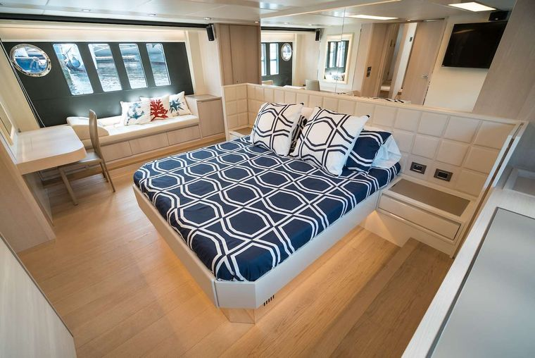 STAY COOL Yacht Charter - Master Suite