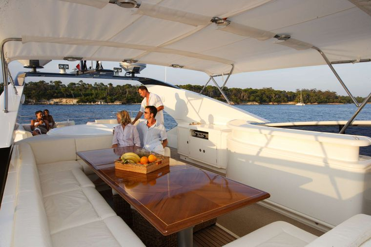 ECLIPSE 114 Yacht Charter - Wheelhouse