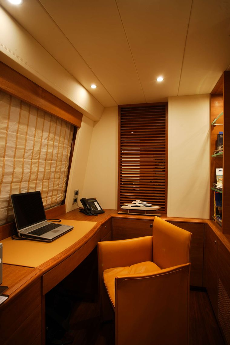 ECLIPSE 114 Yacht Charter - Office area