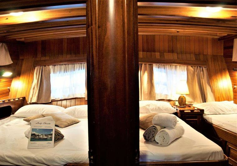 Lady Christa Yacht Charter - Aft Cabins