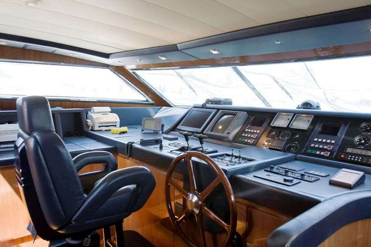 GRACE Yacht Charter - Wheelhouse