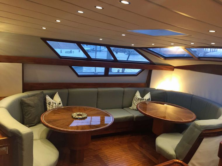 BELLACHA Yacht Charter - Another view of Salon