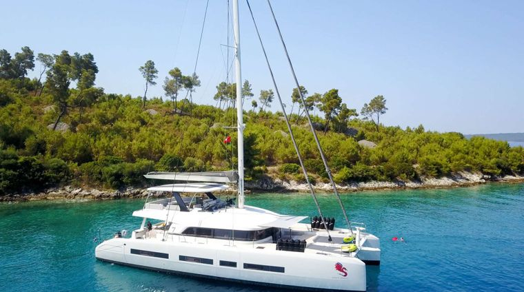 ADRIATIC DRAGON (Lagoon 77) Yacht Charter - Ritzy Charters