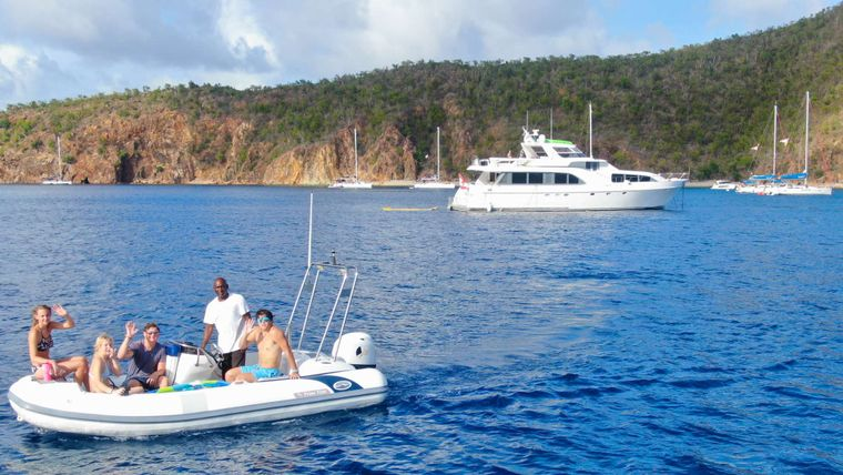 PRIME TIME Yacht Charter - Enjoy the waterspouts