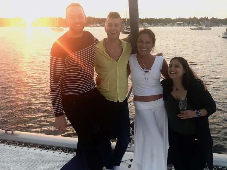 GUINEVERE Yacht Charter - Happy times on Guinevere
