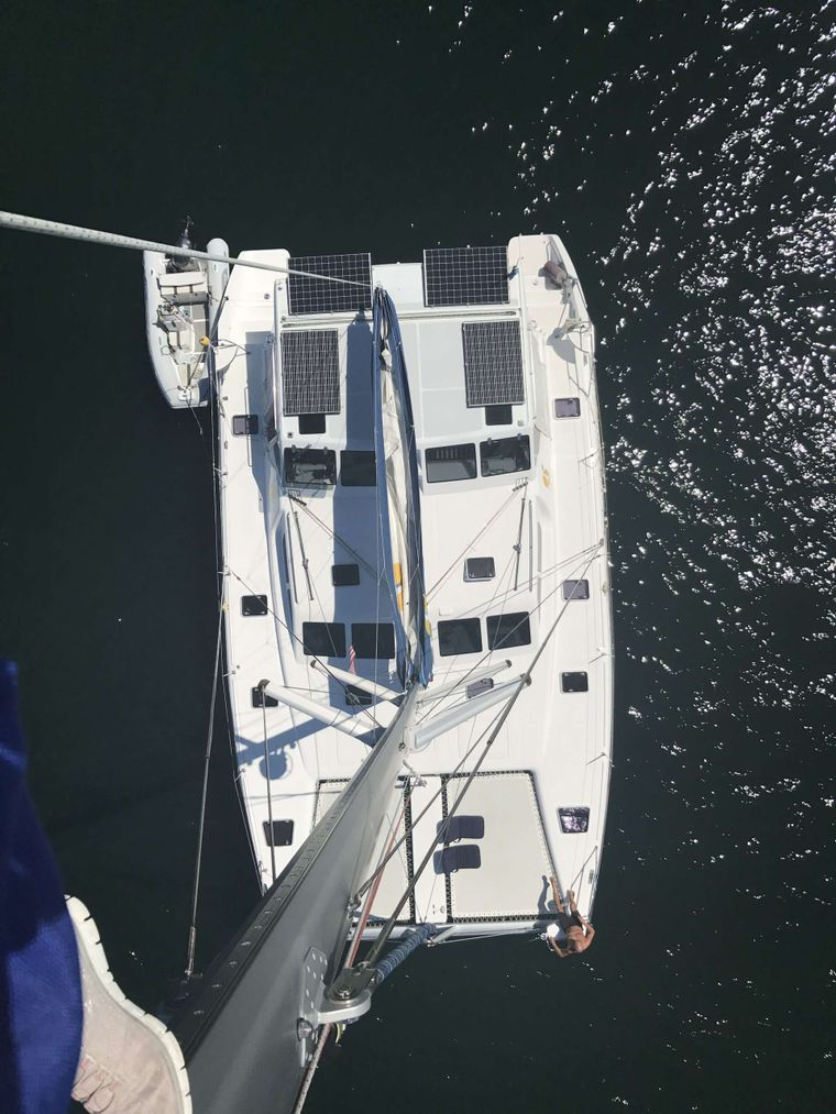 GUINEVERE Yacht Charter - Aerial view of Guinevere