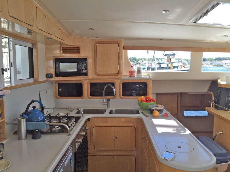 GUINEVERE Yacht Charter - Fully Equipped Galley