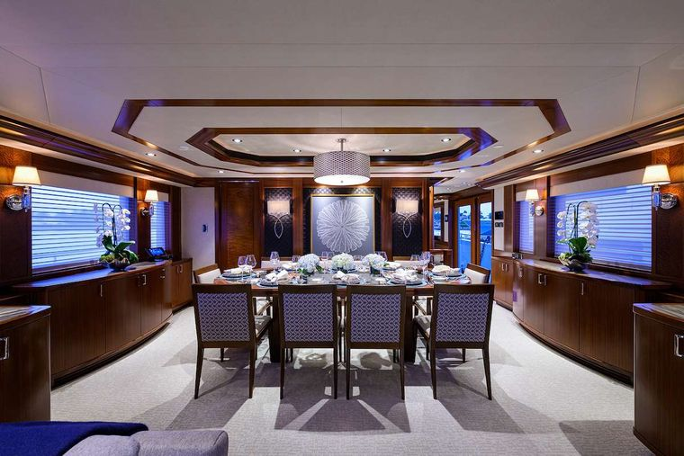 PIPE DREAM Yacht Charter - Dining