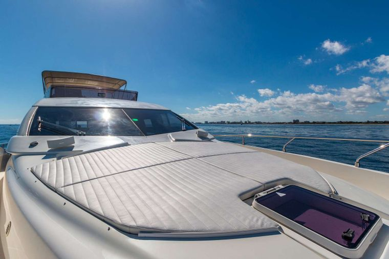 Lindy Lou Yacht Charter - Perfect lounging area