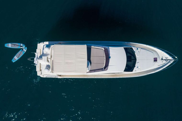 Lindy Lou Yacht Charter - Top view