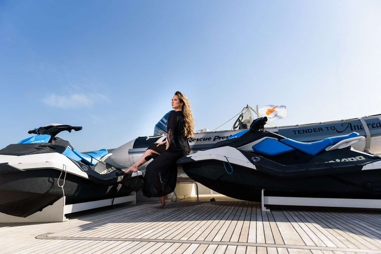 ANDREA Yacht Charter - Jet Skis