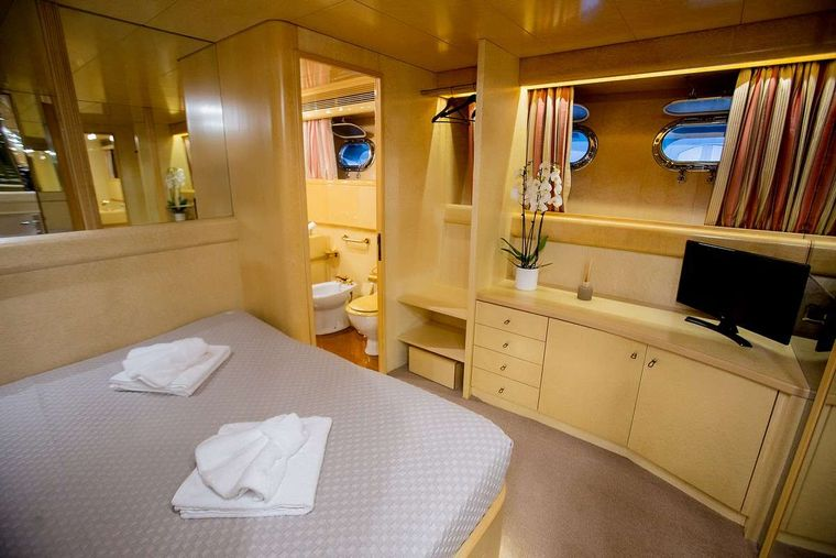 ANDREA Yacht Charter - Master cabin other view
