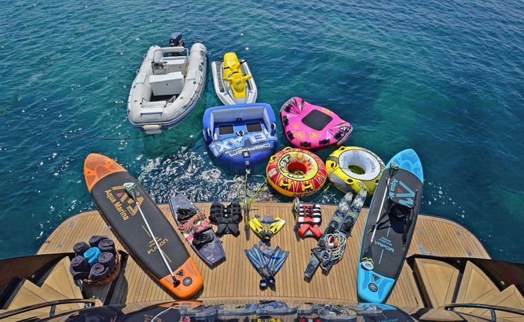 SUGAR Yacht Charter - Water toys