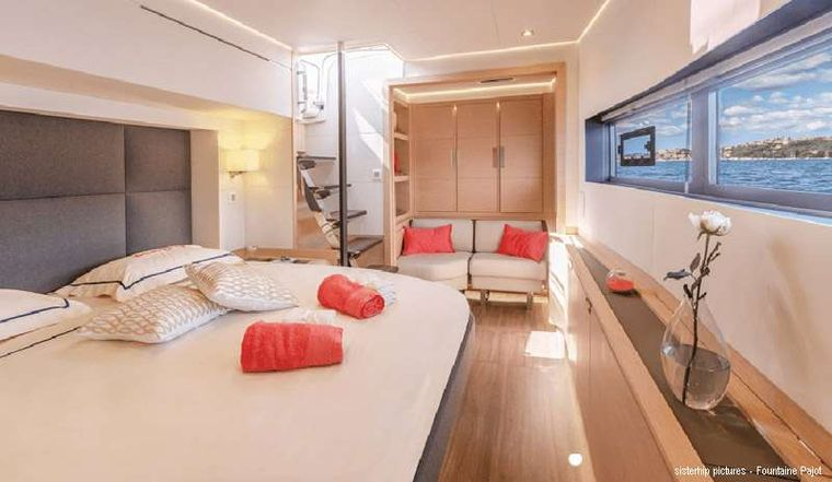 BLACK CAT Yacht Charter - Master cabin - sistership