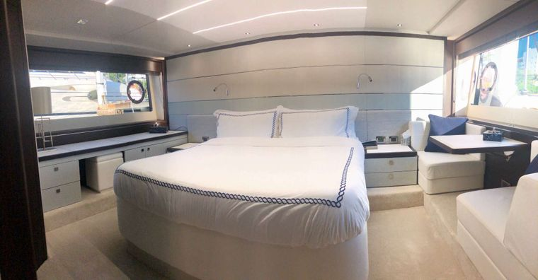 Strategic Dreams Yacht Charter - Master stateroom - full view