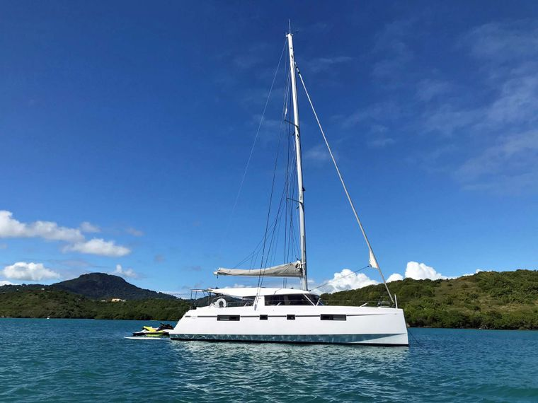 ILLUSION Yacht Charter - Resting in Calm Waters