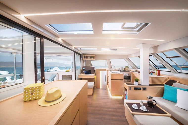 ILLUSION Yacht Charter - Starboard to port view