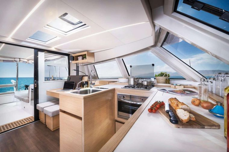 ILLUSION Yacht Charter - Open galley
