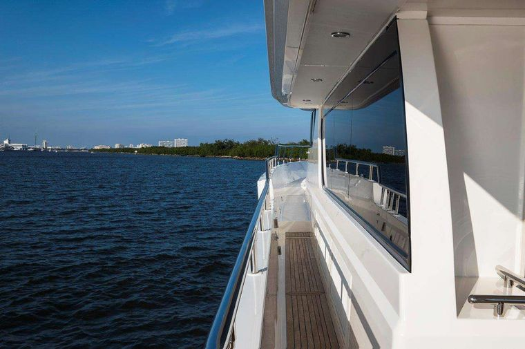 Silver Lining Yacht Charter - Port Side