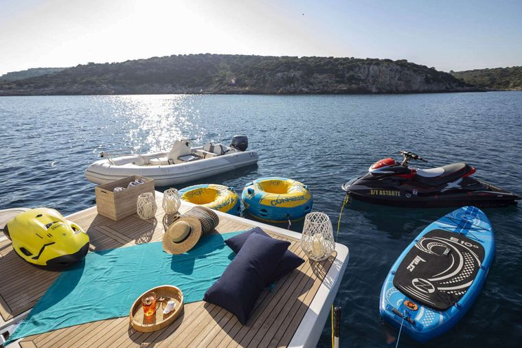 ASTARTE Yacht Charter - Water Toys