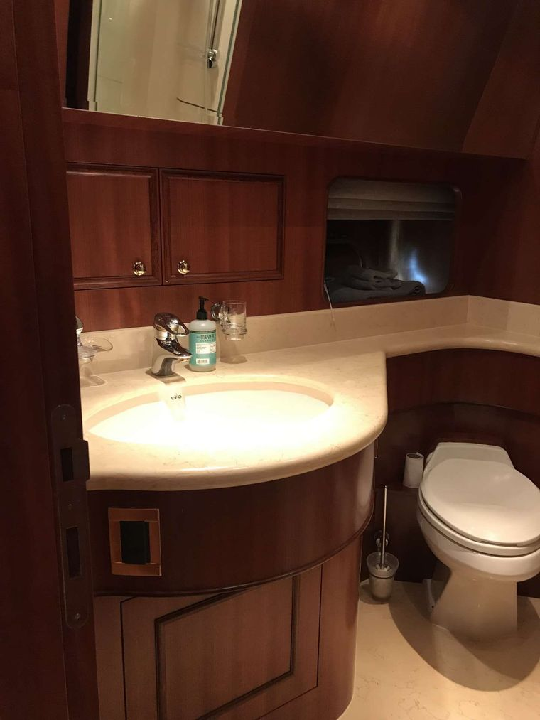 Kaylianna Marie Yacht Charter - Vip head complete with shower