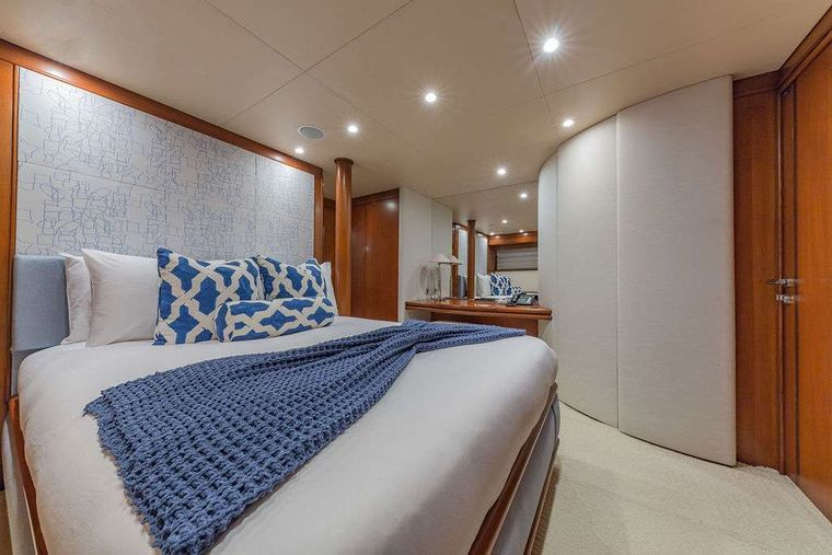 AT LAST Yacht Charter - Queen Stateroom #2