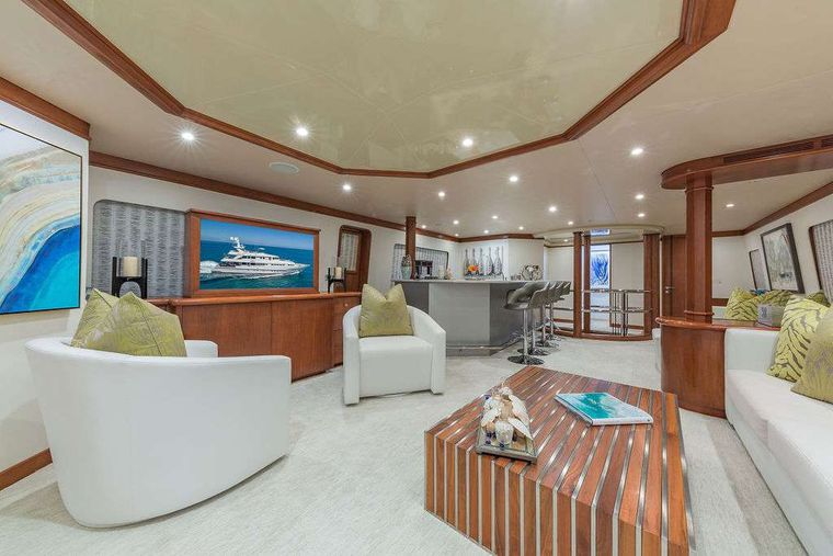 AT LAST Yacht Charter - Sky Lounge
