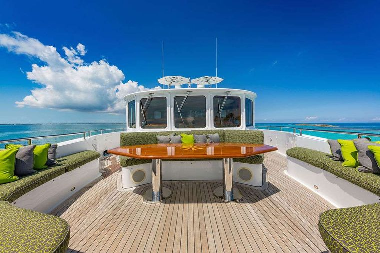 AT LAST Yacht Charter - Portuguese Bridge (Bow Seating)